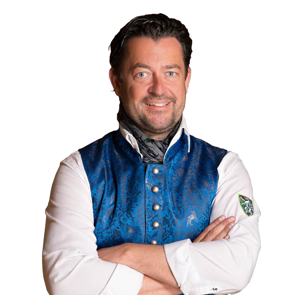 Moderator Bernd Pratter