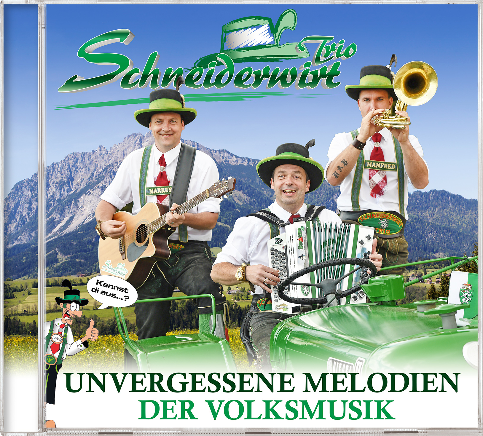 Schneiderwirt Trio - Unvergessene Melodien der Volksmusik V2